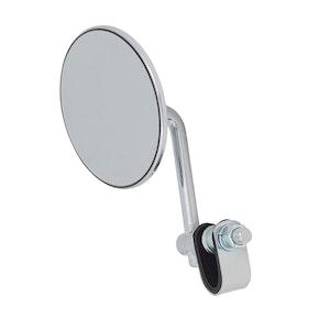 "4"" Chrome Angle Clamp On Mirror"