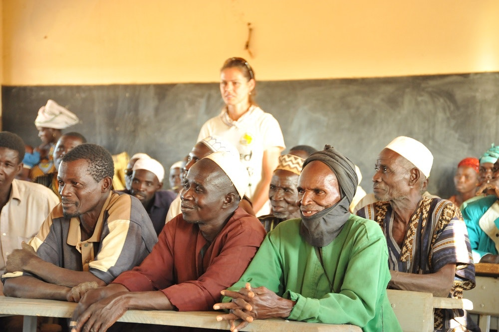4.3 Wise village elders explain how they now encourage girls to go to school  Burkina Faso