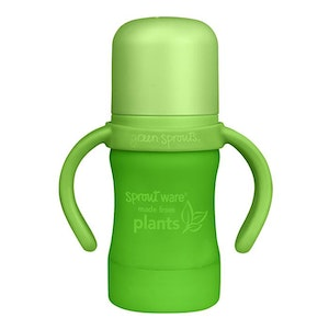 green sprouts Sprout Ware Sippy Cup made from Plants-6oz-Green-6mo+