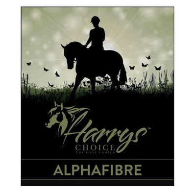 HARRYS CHOICE Alpha Fibre Horses Feed Supplement 18kg