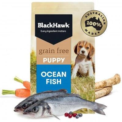Black Hawk Grain Free Ocean Fish Puppy Dry Dog Food
