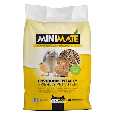 Minimate Small Animal Environmentally Friendly Pet Litter 7 kg