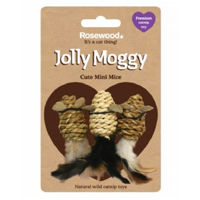 Rosewood Jolly Moggy Rattan Mice
