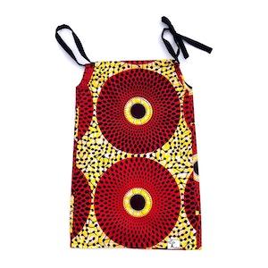 TreeKid FLORA DRESS - Red Circles