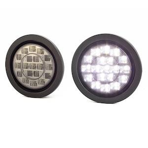 """4"""" Flush Mount LED Reversing Lights - Pair"""