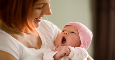A healthy happy baby and a healthy happy mum
