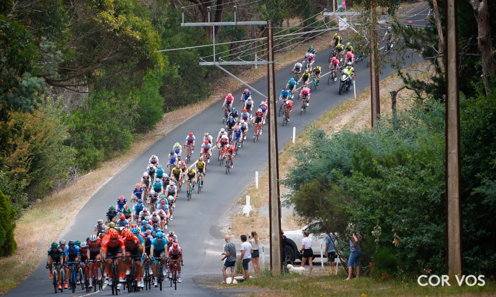 Santos Tour Down Under Stage Four Race Results