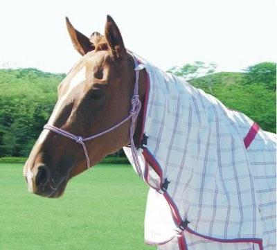 Capriole Equestrian Deluxe Rose & Aqua Summer Neck