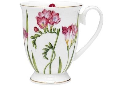 Ashdene - Floral Symphony Footed Mug - Freesia