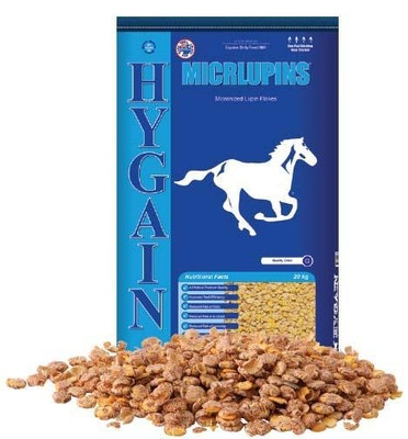 Hygain Micr Lupins Flakes Horse Feed Supplement 20kg