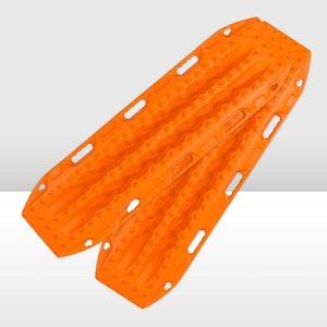 MAXTRAX MKII Signature Orange + 2x 6inch LED Work Lights
