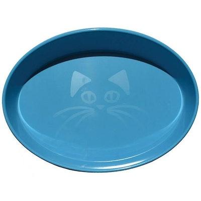 ScreamPet Scream Oval Heavy Duty Plastic Cat Bowl 300ml - 4 Colours