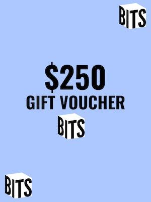 BITS Gift Card   $250