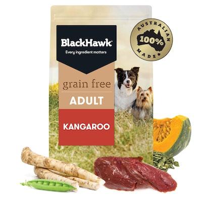 BlackHawk Black Hawk Grain Free Adult Kangaroo Dry Dog Food