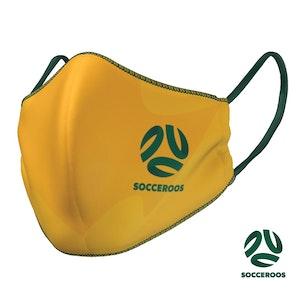 Socceroos & Matildas Face Mask - 2021 design
