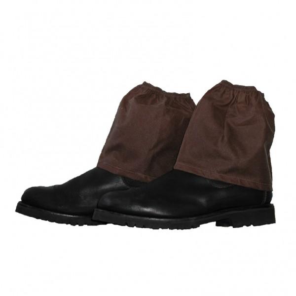 Oilskin Boot Guards: Brown Oilskin Boot Guards: Brown