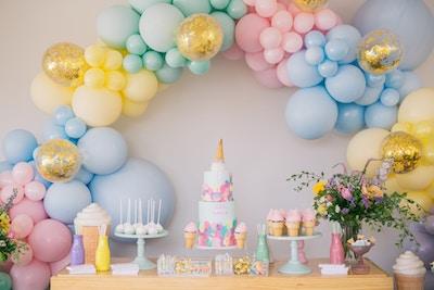AVA'S ICE CREAM BIRTHDAY – PASTEL PARTY PRETTINESS