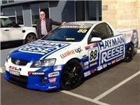 GSA Sales Manager Alan Hislop with Hayman Reese Racing