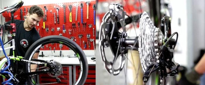 wie wechsle ich einen fahrradschlauch video bike exchange. Black Bedroom Furniture Sets. Home Design Ideas