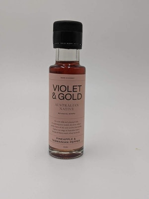 Violet & Gold Pineapple and Mountain Pepper mixer