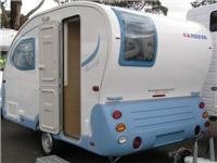 Retro caravanning at Melbourne European