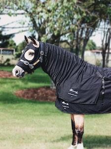 Diamond Deluxe Horsewear Fleece Winter Stretch Zip Hoods