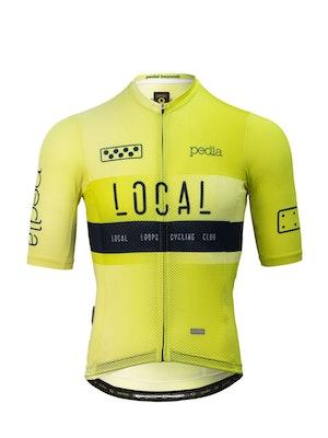 Pedla Team / Climba Jersey - Neon Yellow