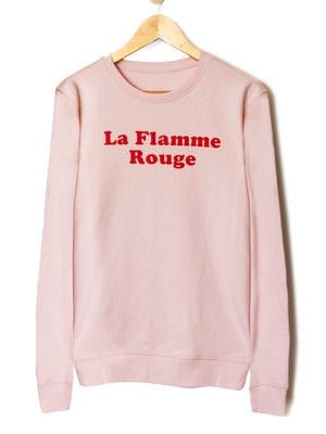 The General Classification La Flamme Rouge Crew Jumper Pink
