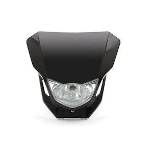 Custom Supermoto Headlight - Black