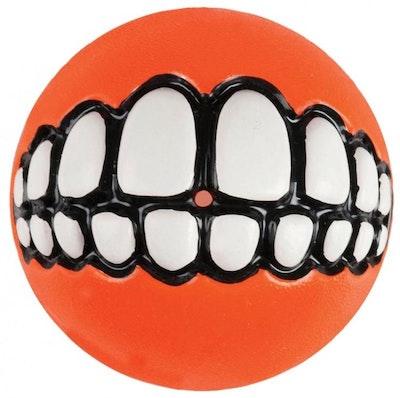 Rogz Ball Grinz Orange