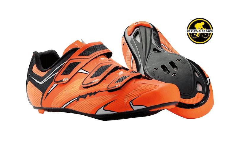 Northwave Sonic 3S Fluro Orange, Road Bike