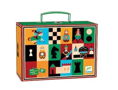 DJECO - Chess & Checkers Game