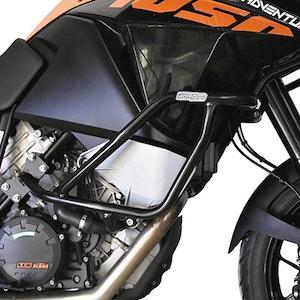 Crash Bars Engine Protectors - KTM 1290 Super Adventure 16-18 Black