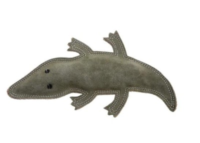 Outback Tails Animal Toy made from jute fibre - Steve the Suede Croc