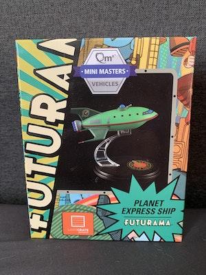 Futurama Planet Express Ship QMX Mini Masters Vehicles 2016Loot Crate