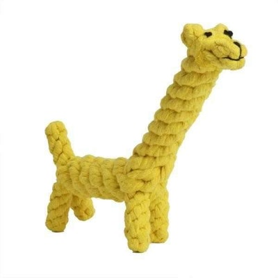 Doggy Topia Giraffe Rope Dog Toy