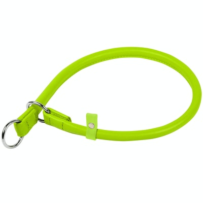 WauDog by the Collar Company Waudog Galmour Round Leather Slip Collar Size: Length 50cm, diameter 10mm