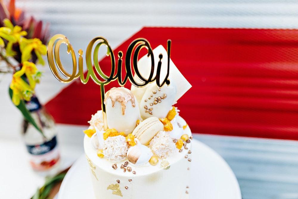 australia day cake topper LENZO