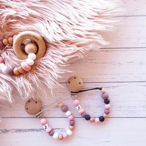 Cheeky Toes™ Cheeky Dummy Clip I PORT & ROSE GOLD Collection