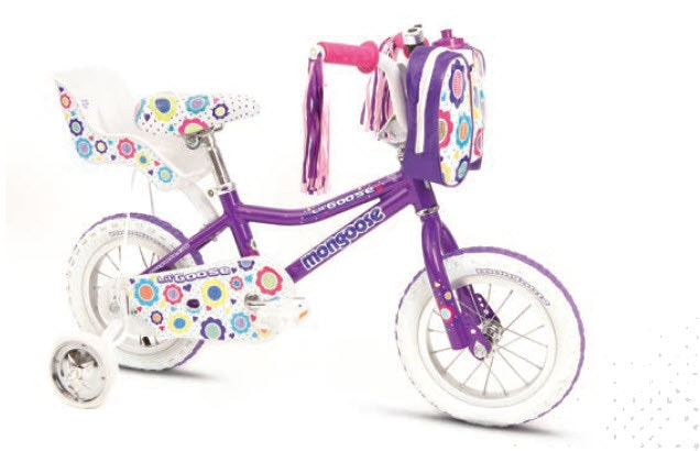 "Lilgoose Girls, 12"" Kids Bikes"