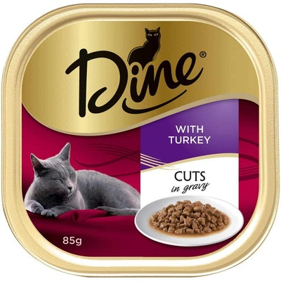 Dine Daily Variety Turkey Cuts In Gravy Wet Cat Food