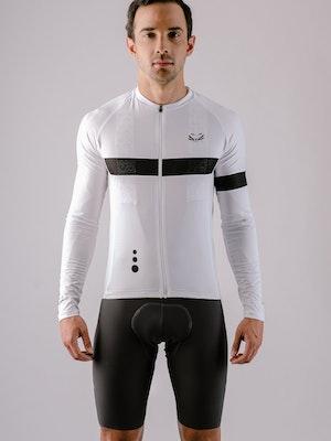 Taba Fashion Sportswear Camiseta Ciclismo Hombre Manga Larga Cuarzo