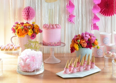 A Pink Fairy Party