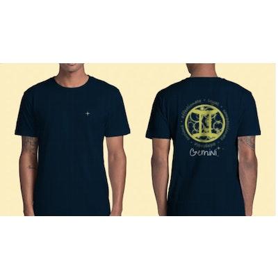 Interstellar Beverages Horoscope [MALE] T-Shirt Gemini