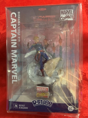 Captain Marvel D-Stage Diorama - D Select Collectable DS019 - Marvel Comics - New in Box
