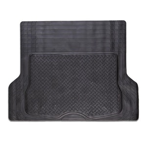 Universal Durable Black Rubber Boot Mat (Size 144 X 109.5Cm)