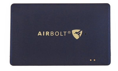 AirBolt Shield Card Smart Bluetooth Travel Card