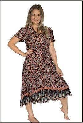 Lulubelles Clothing Summer Breeze Sophia Dress - Brown