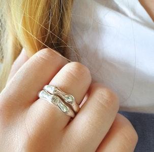Twig ring set-Diamond