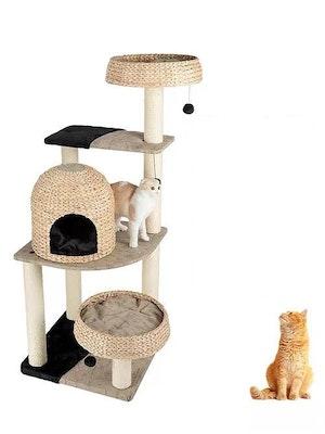 Honeypot CAT® Bulrush Cat Tree 153cm